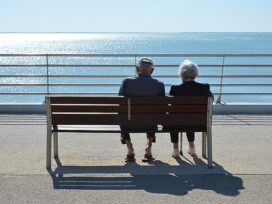 Couple Passion Love Elderly Person