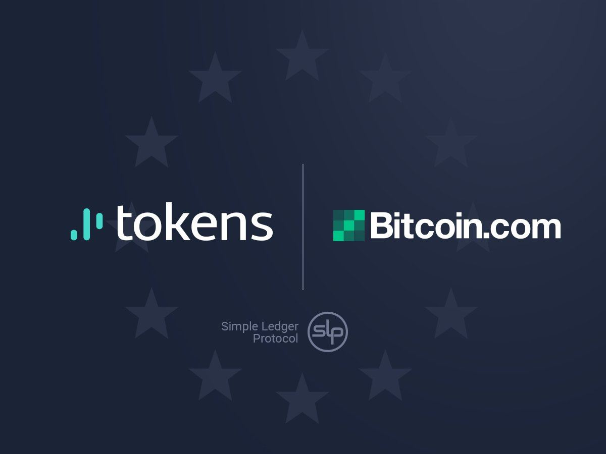 tokens and bitcoin.com partnership