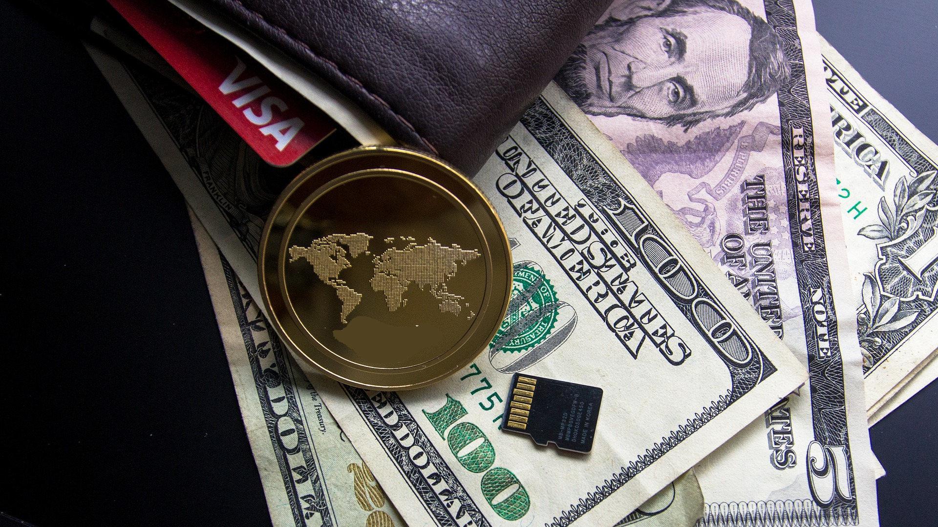 Visa fiat blockchain patent